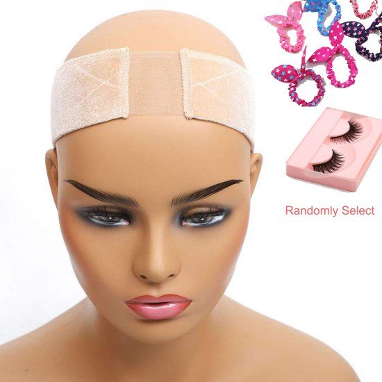 Wig Grip Headband Velvet Wig Elastic Head Hair Band